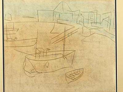 Image: Lanyon Peter, St Ives Harbour, c.1946-47, recto