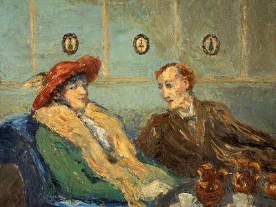 Image: Tonks Henry, 'The Betrothal', oil on canvas, late 19th - early 20th century