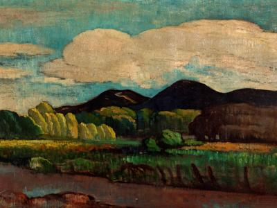 Image: Witcombe John, 'Landscape', oil on canvas, early 20th century
