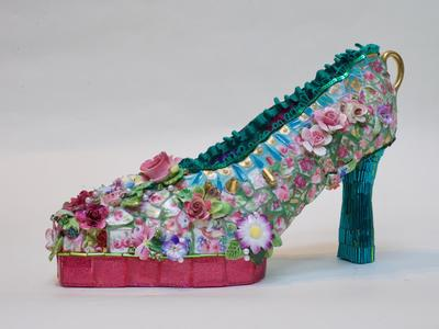 Image: Flowered shoe by Candace Bahouth
