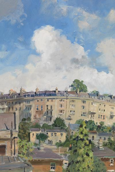 Image: 050 Widcombe Crescent from Forefield Rise