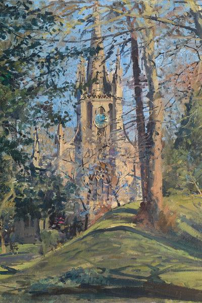 Image: 034 Spring, The Holy Trinity, Combe Down