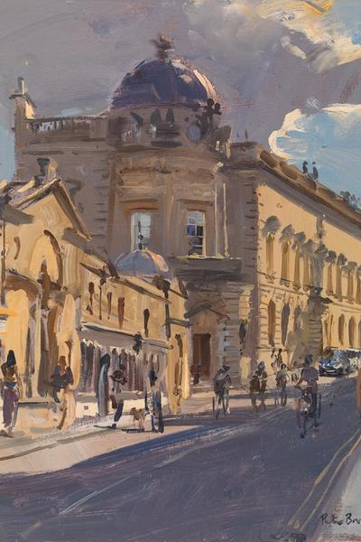 Image: Silver-lined Cloud over the Victoria Art Gallery, Peter Brown