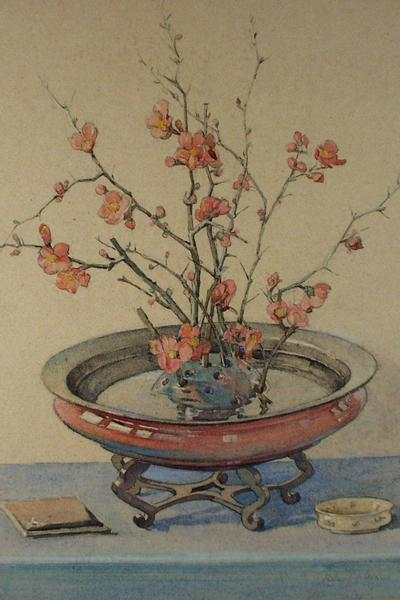 Image: Cochrane Helen Lavinia, 'Japonica', watercolour, early 20th century