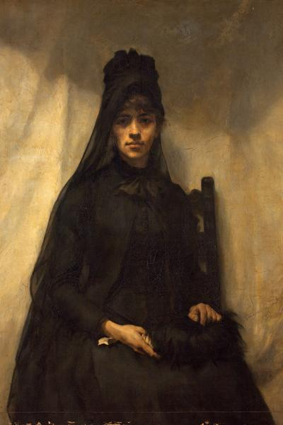 Image: Deane Emmeline, 'Anna Bilinska', oil on canvas, 1884. Adopted by Friends of the Victoria Art Gallery (F)