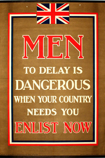 Image: Men - to delay is dangerous