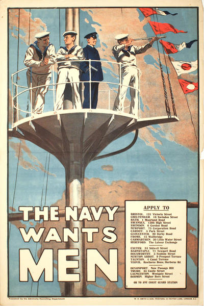 Image: The navy wants men, 1915