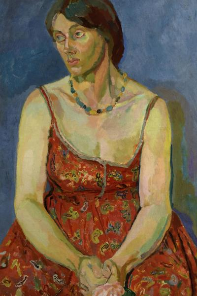 Image: Duncan Grant, Vanessa Bell c.1918, oil on canvas © National Portrait Gallery, London