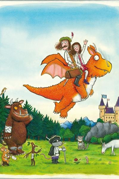 Image: Axel Scheffler, 'Zog and the Flying Doctors', book cover artwork