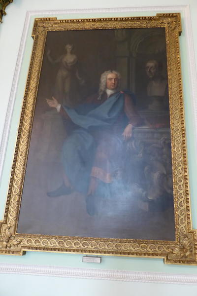 Image: Charles Jervis. William Pulteney, Earl of Bath. Conservation of frame