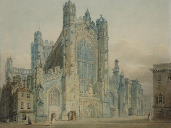 Image: Joseph Mallord William Turner, Bath Abbey