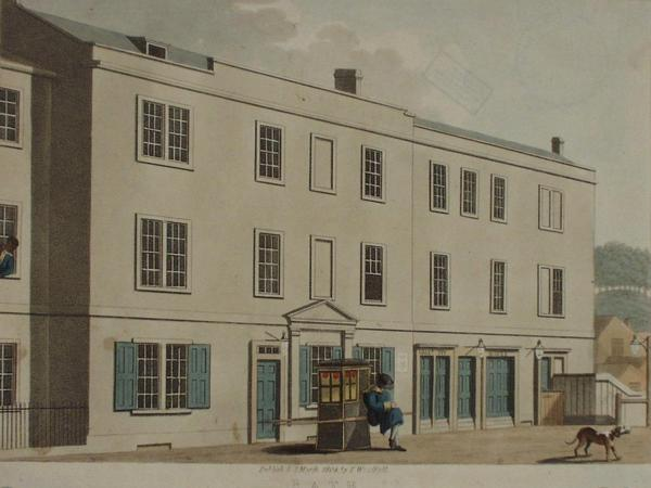Image: Bath theatre in Orchard Street, T. Woodfall, 1804