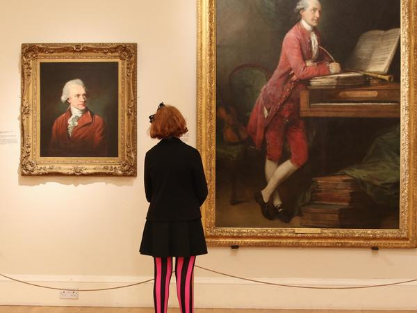 Image: Girl viewing painting, Royal Collection Trust/© Her Majesty Queen Elizabeth II 2018