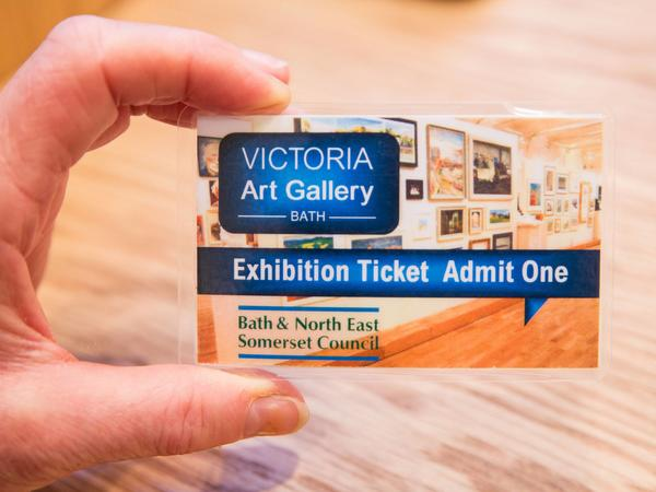 Image: Victoria Art Gallery ticket