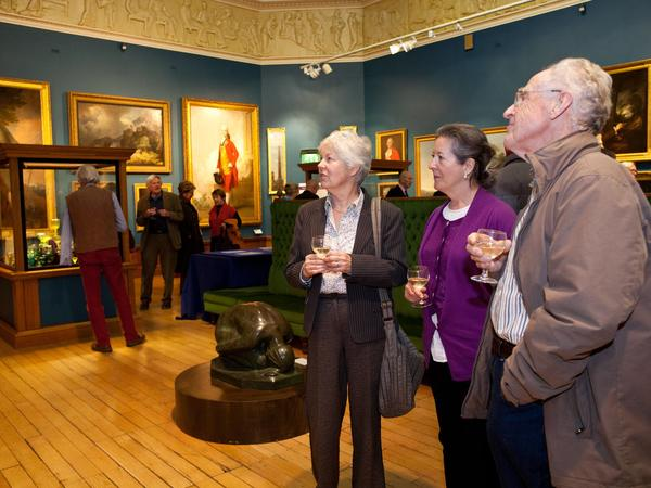 Image:  Friends in the Upper Gallery